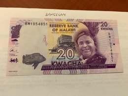 Malawi 20 Kwacha Unc. Banknote - Malawi