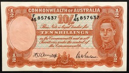 Australia 10 SCELLINI Pick#25b 1942 Armitage & McFarlane Spl Lotto 3039 - Emissioni Governative Decimali 1966-...