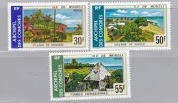 COMORES  :  Yvert :  101 à 103  Neuf X    Cote 12,00 € - Isla Comoro (1950-1975)