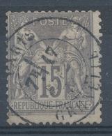 N°77 NUANCE ET OBLITERATION. - 1876-1898 Sage (Type II)