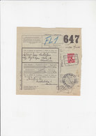 Vrachtbrief - Connaissement - Calamine - Chartreuse -1939 - Chemins De Fer