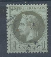 N°25 NUANCE ET OBLITERATION. - 1863-1870 Napoléon III Lauré