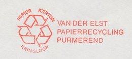 Meter Cut Netherlands 1982 Paper Recycling - Protección Del Medio Ambiente Y Del Clima