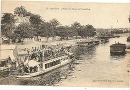44 - NANTES - L'Erdre Au  Quai De Versailles  13 - Nantes