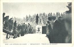 """Dépt 88 - GÉRARDMER - Tremplin Du Biasot - (""""LES VOSGES EN HIVER"""") - Saut à Ski - Gerardmer"""