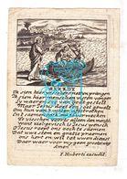 DP Maria Cecilia C. Vercruysse 44j. ° 1775 † Kortrijk 1819 X Jean Bapt. Van Dale / Gravure F. Huberti (F. Huybrechts) - Images Religieuses