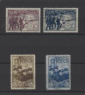 RUSSIE.  YT  N° 647/650   Obl  1938 - 1923-1991 USSR