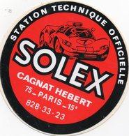 Autocollant SOLEX - Aufkleber