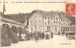 COL DE LA SCHLUCHT - Les Vosges - Douane Française Et Grand Hôtel (altitude 1.130 M.) - C. Cuny, éditeur, N° B--579 276 - France