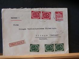 84/892  LETTRE  ALLEMAGNE  1951  EXPRESS - [7] République Fédérale