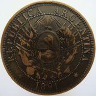 LaZooRo: Argentina 2 Centavos 1891 XF - Argentine