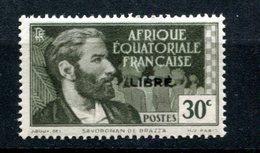 AEF - Variété Surcharge Espacée De 3,5 Mm - Yvert 103 - Maury 127 - Neuf Xxx - T 922 - Unused Stamps