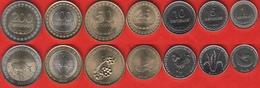 Timor - Leste Set Of 7 Coins: 1 - 200 Centavos 2003-2017 UNC - Timor