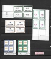 Timbres Fictifs - Coins Datés N° 151 à 159 - Phantom
