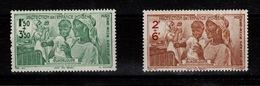 Guadeloupe - Poste Aerienne YV PA 1 & 2 N** Protection De L'enfance - Guadeloupe (1884-1947)