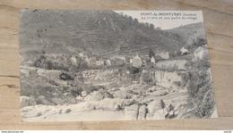 PONT DE MONTVERT : La Riviere Et Une Partie Du Village  …... … NW-4291 - Autres Communes
