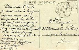 TOULON. Croiseur DUPLEIX. 1942 - Marcophilie (Lettres)
