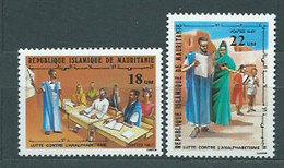Mauritania - Correo Yvert 598/9 ** Mnh - Mauritania (1960-...)