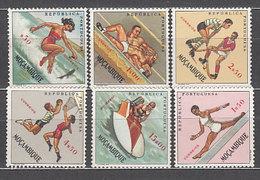 Mozambique - Correo Yvert 479/84 * Mh  Deportes - Mozambique