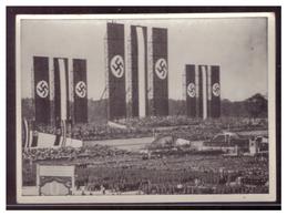 Dt- Reich (008443) Sammelbild Schwart Weiß, Männer Und Ereignisse Unserer Zeit, Bild 108, Massenkundgebung Zum Tag Der - Zigaretten