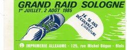 Autocollant GRAND RAID DE SOLOGNE - Aufkleber