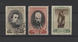 RUSSIE.  YT  N° 711/713   Obl  1939 - 1923-1991 USSR