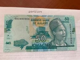 Malawi 50 Kwacha Unc. Banknote - Malawi