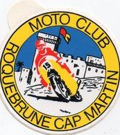 Autocollant MOTO CLUB ROQUEBRUNE - Aufkleber