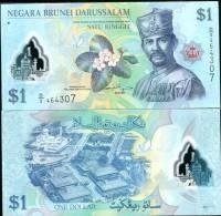 BRUNEI 1 RINGGIT 2011 P NEW POLYMER UNC - Brunei