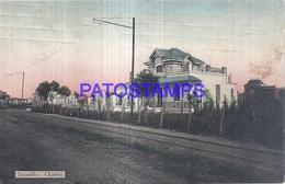126199 ARGENTINA BUENOS AIRES SALADILLO CHALETS & RAILROAD POSTAL POSTCARD - Argentinien