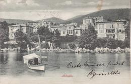 Opatija (Abbazia) * Segelboot, Schiffe, Strand, Hotel, Promenade * Kroatien * AK266 - Croatia