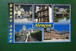 J 3 ) ALENCON CARTE DE BONNE ANNEE - Alencon