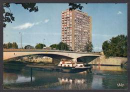 101600/ THIONVILLE, Le Pont Des Alliés Et L'Européen - Thionville