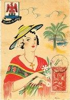 49813 France, Maximum 1944 Costume Provence, Yvert 598 - Maximum Cards