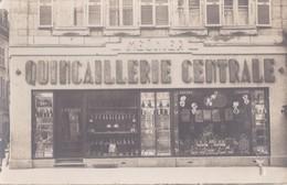 CARTE PHOTO PONTARLIER  QUINCAILLERIE CENTRALE MEUNIER 53 DE LA GRANDE RUE - Pontarlier