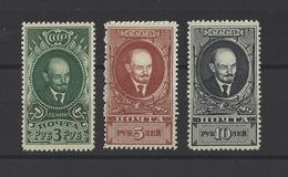 RUSSIE.  YT  N° 738/740   Neuf *  1939 - 1923-1991 USSR