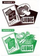 Lot De 12 Buvards Liebig Différents. - Vestiario & Tessile