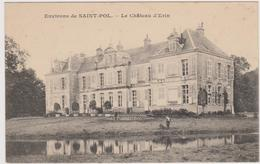 62  ERIN  - Chateau   -  CPA N/B  9x14 TBE  Neuve - France