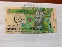 Turkmenistan 1 Manat Unc. Banknote - Turkmenistan
