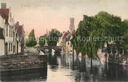 73524555 Bruges_Brugge_Flandre Le Quai Vert - Belgio