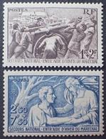 DF40266/989 - 1941 -  AU PROFIT DU SECOURS NATIONAL - N°497 à 498 NEUFS** - France