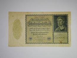 10000 Mark Banknote Aus Deutschland Von 1922 (vorzüglich) - [ 3] 1918-1933: Weimarrepubliek