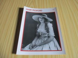 Fiche Cinéma - Mary Pickford. - Cinemania