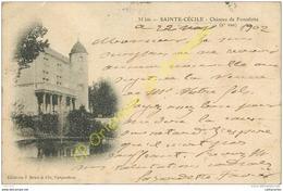 84. SAINTE CECILE . Chateau De Fonsalette . - France