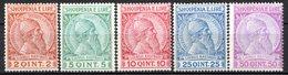 ALBANIE (Administration Autonome) - 1913 - N° 25 à 29 - (Lot De 5 Valeurs Différentes) - Albanië