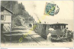 73. AIX LES BAINS .  Chemin De Fer Du Revard . Gare De Pré Japert . - Aix Les Bains
