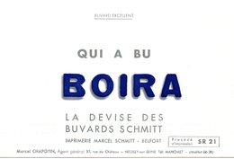 Buvard Imprimerie Marcel Schmitt à Belfort. - Papierwaren