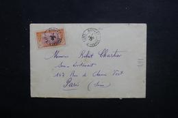 CÔTE D' IVOIRE - Enveloppe De Bouaké Pour Paris En 1915, Affranchissement Plaisant - L 49670 - Brieven En Documenten