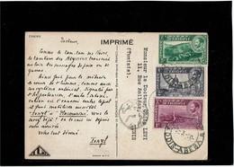 LCTN59/LE/2 - ETHIOPIE CARTE POSTALE IONYL MARS 1950 - Äthiopien