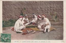 ALGERIE  SCENES ET TYPES  CARTE PUB  SENECLAUZE    -VIGNERONS - Algeria